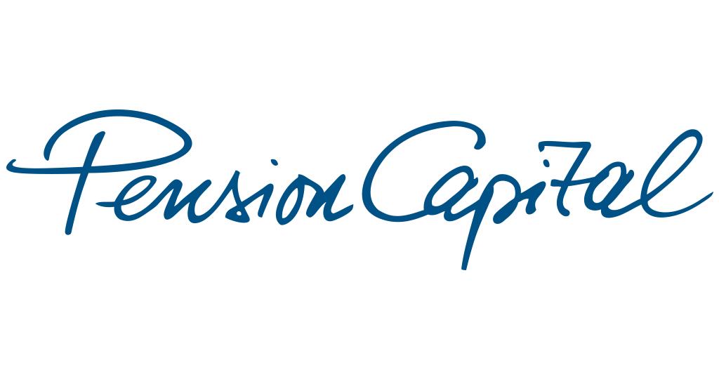 PensionCapital - Unternehmen - Logo auf weißem Grund