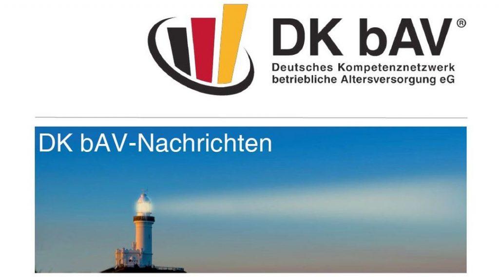 DKbAV-Nachrichten | Oktober 2017 | Betriebsrentenstaerkungsgsetz