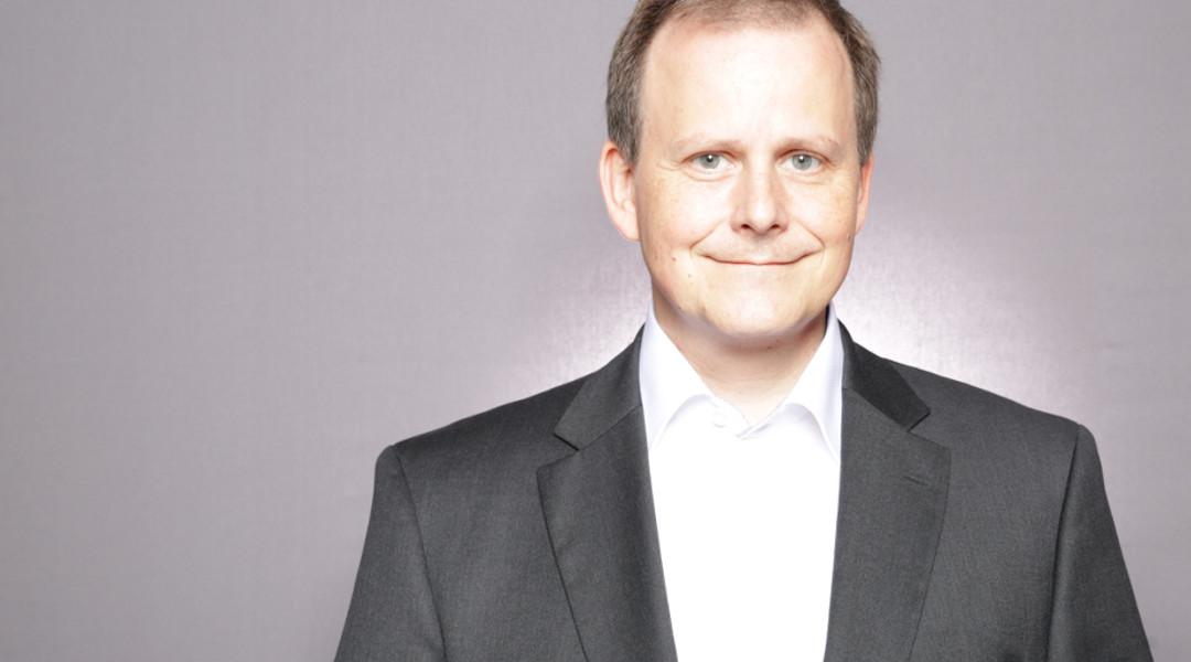 Lars Menzel auf der Zukunft Personal Süd 2018 in Stuttgart