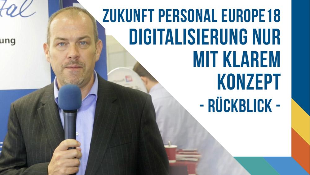 ZPEurope 18 - Digitalisierung nur mit klarem Konzept