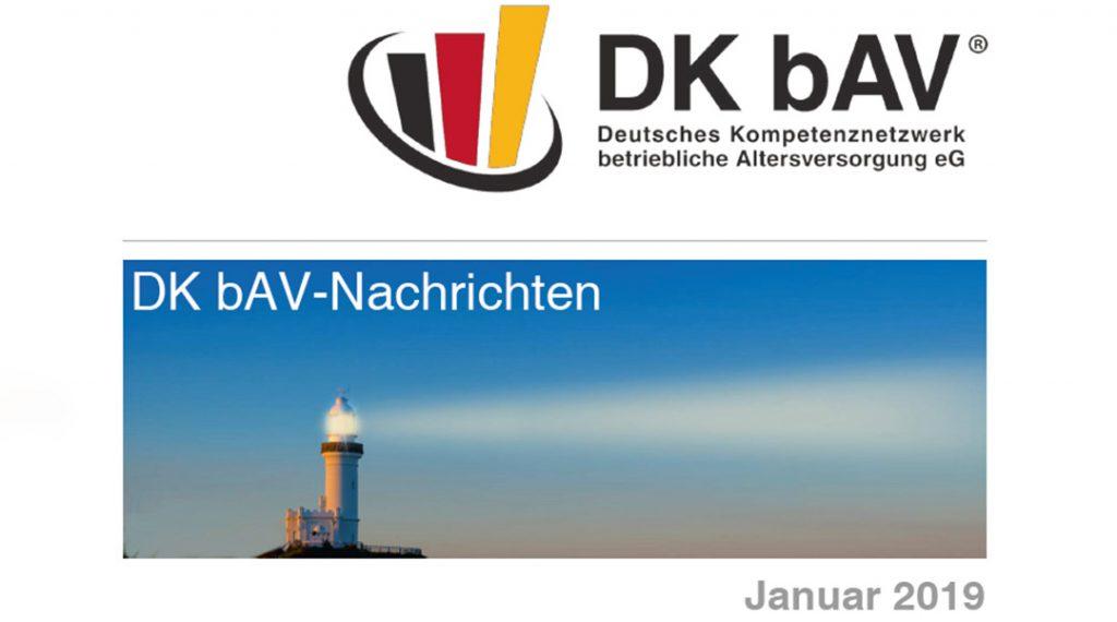 DKbAV-Nachrichten | Januar-2019 | Bewertung von Pensionsrückstellungen