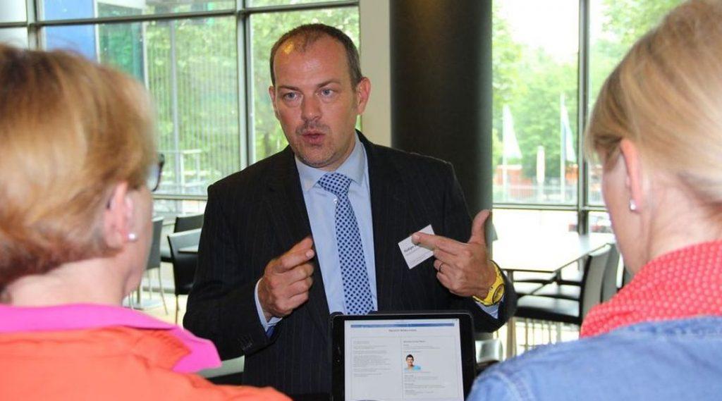 Rüdiger Zielke im Workshop HR-Kompetenz